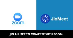 JioMeet zoom
