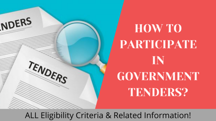 HOW TO PARTICIPATE IN GOVERNMENT TENDERS