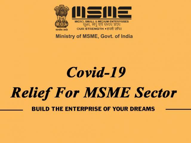 Covid-19 Relief Scheme For Msme