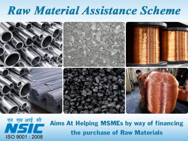NSIC'S RAW MATERIAL ASSISTANCE SCHEME